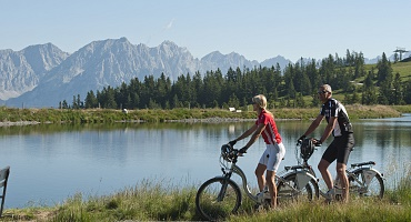 E-Bike in den Kitzbüheler Alpen